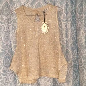 Tops - Boutique Sleeveless Top-NWT